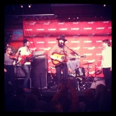 The Head and The Heart at the ASCAP Music Cafe 1-24