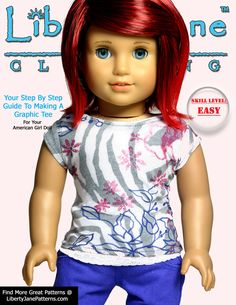 Free American Girl Doll T-shirt pattern