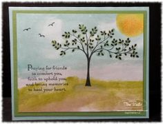 Stamp & Scrap with Frenchie: Quick Sympathy Card