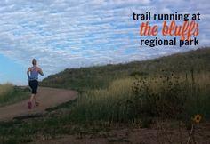 Urban Trail Running: The Bluffs Regional Park in South Denver. #trailrunning #trails #trailtime #Colorado #Denver