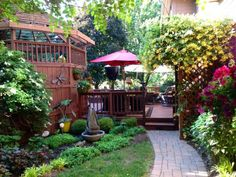 Hoosier Sanctuary, Backyard retreat for anytime we need a break from a busy lifestyle., Inviting brick walkway from driveway to deck., Patio...