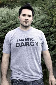 I Am Mr. Darcy S.M.L.XL.2XL heather by Brookish