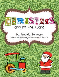 blog for more Christmas Around the World ideas to go with my unit