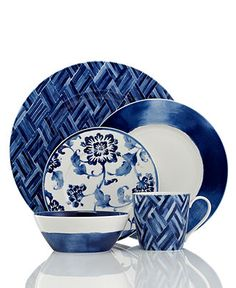 Lauren Ralph Lauren Dinnerware, Somerset Island Collection - Casual Dinnerware - Dining & Entertaining - Macy's
