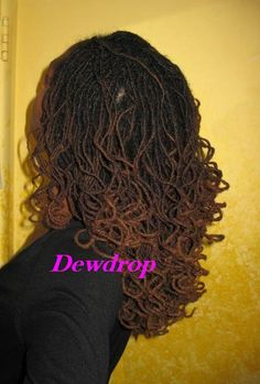 traditional dreadlocks | kalia-dewdrop: Nappiversary & Post-Cut Styles