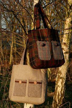 tweed & tartan bags