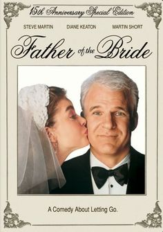 """This being one of my favorite movies...Steve Martin Takes On the Famous Spencer Tracey Part & Gives It His Special Touch...And Grabs Your Heart...Great Turns By Diane Keaton As Mom and Martin Short As """"The Wedding Planner From Hell""""....I Love, Love This Film...And the Sequel, As Well!!"""