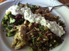 Chicken Gyros With Cucumber Salsa And Tsatsiki Recipes — Dishmaps