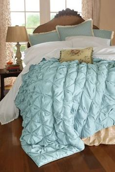 Ingrid Smocked Quilt from Soft Surroundings