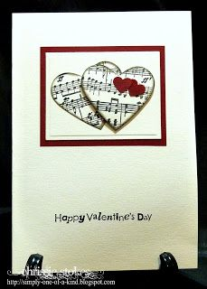 Simply One Of A Kind: Valentines for my choir members