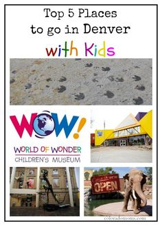 Top 5 Places to go in Denver with Kids