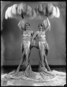 vintag, beth dodg, girl, roar 20s, 1920s event, 1927, bassano, burlesqu, dodg sister