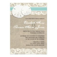 Beach Rustic Burlap Lace Wedding Invitation so please read the important details before your purchasing anyway here is the best buyShopping          Beach Rustic Burlap Lace Wedding Invitation please follow the link to see fully reviews...