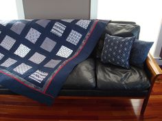 Japanese fabric quilt