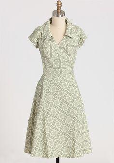 Diane Vienna Sage Dress By Heartbreaker | Modern Vintage Dresses