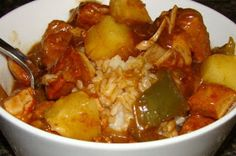 Krista's Kitchen: Slow Cooker Sweet and Sour Pork