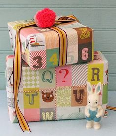 cute alphabet wrap