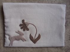 """Spring posy bag"" design by Maggie Bonanomi"