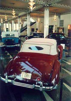 Auburn, Indiana - Auburn Cord Duesenberg Museum