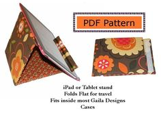 Free iPad Stand Sewing Pattern