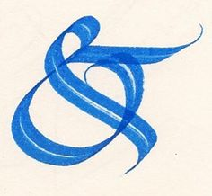Calligraphy - Ampersand