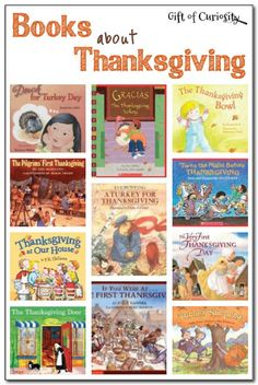 Books about Thanksgiving