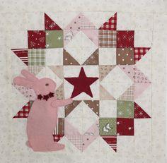 Moda Love Blog Tour - Pink bunny love from Bunny Hill Designs!  #showmethemoda #modablogtour