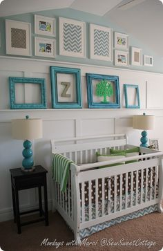 beautiful nursery.  love the board and batten (love the mama who created this room too)!