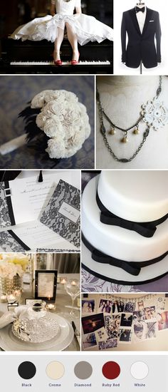 Old Hollywood Wedding Theme