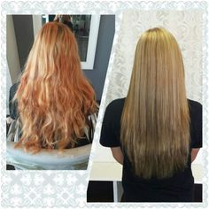 ... hair on Pinterest | Copper Highlights, Fall Hair and Blonde Highlights