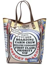 BARBARA RIHL - World traveler tote