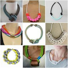 Goes & Comes: DIY- Collar de Lazo / Rope Necklace