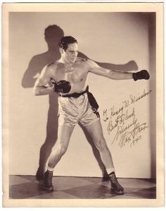 Max Baer (February 11, 1909 – November 21, 1959) was an American boxer of the 1930s (one-time Heavyweight Champion of the World) as well as a professional wrestler and referee, and had an occasional role on film or television. He was the brother of twice World Champion boxing contender Buddy Baer and father of actor Max Baer, Jr. (best-known as Jethro Bodine on The Beverly Hillbillies). Baer is rated #22 on Ring Magazine's list of 100 greatest punchers of all time.