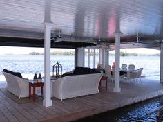 Awesome boathouse!