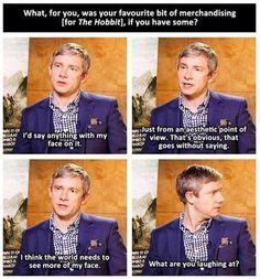 Martin Freeman, everyone