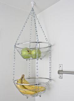 DIY: Hanging Fruit Basket