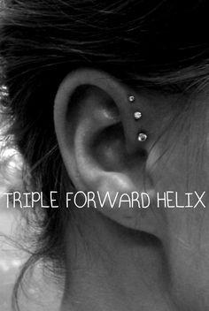 triple forward helix
