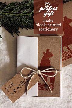 blockprint, print card, christma gift, perfect gift, gift ideas, block print, diy gifts, handmade gifts, christmas gifts