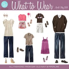 What to Wear | April/May family pictures, color, family portraits, family photos, outfit, families, famili photo, photo session, wear