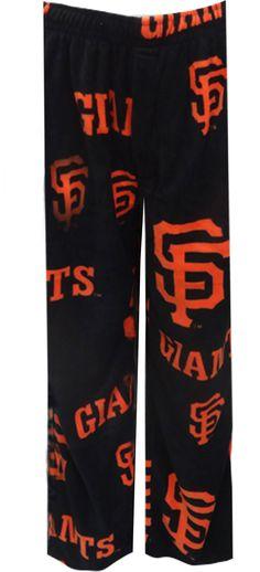 WebUndies.com San Francisco Giants Mens Fleece Lounge Pants