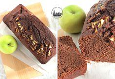 Torta morbida al cacao e mele