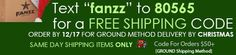Fanzz Blog   Today Only! Free Shipping at Fanzz.com