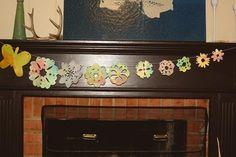 Marbleized Spring Garland from Montessori Works