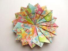 Origami Modular Mandala