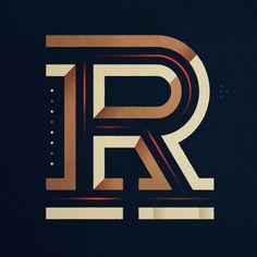 By luke lisi #letters #type #typography
