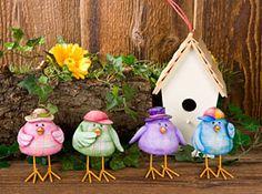 Free pattern birds. By Mary Jo Tuttle