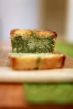 Lemon & Matcha Marble Pound Cake: Oh I would like to try this!