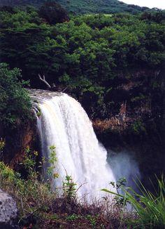 Kauai, HI (Travel to Hawaii to see the waterfalls). #hawaiirehab www.hawaiiislandrecovery.com