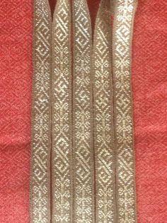 Birka, 1,3 cm width, 200 cm long tablet woven by Stephan Franke
