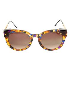 Colorful #thierry shades are a Coachella must (see 101 more festival style essentials)